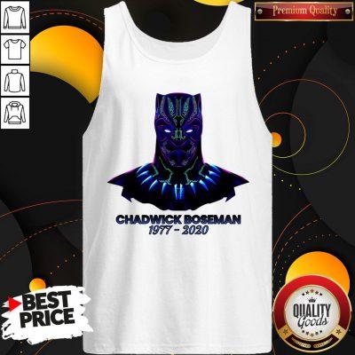 RIP Black Panther's Chadwick Boseman 1977 2020 T- Tank Top