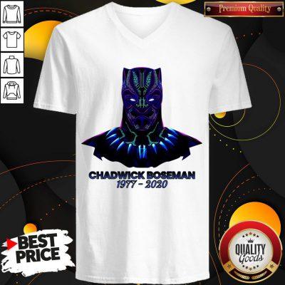 RIP Black Panther's Chadwick Boseman 1977 2020 T-V-neck