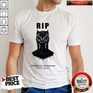 RIP Black Panther's Chadwick Boseman Shirt
