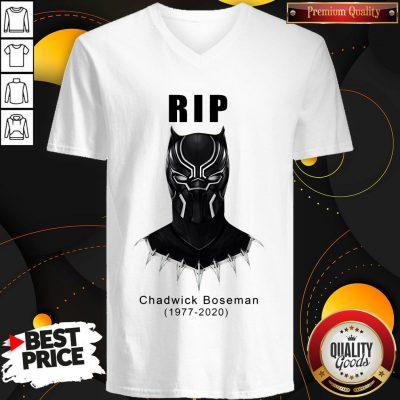 RIP Black Panther's Chadwick Boseman V-neck