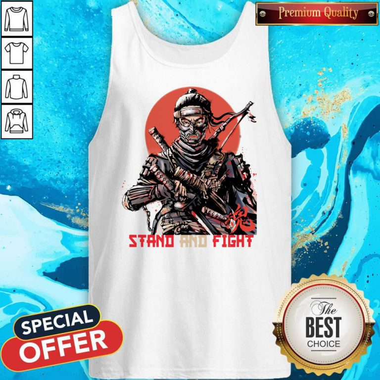Stand And Fight Tank top