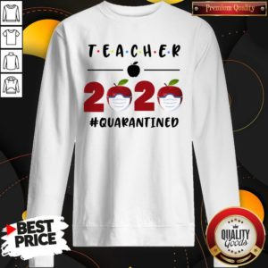 Teacher 2020 Quarantined Friends Version Sweatshirt