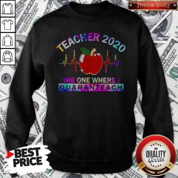Teacher 2020 The One Where I Quaranteach Sweatshirt