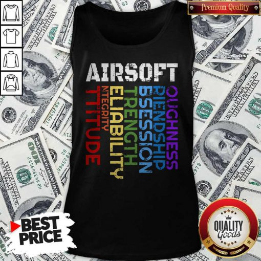 Things I Learn From Playing Airsoft Combat Tank Top