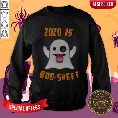 2020 Is Boo-sheet Boo Ghost Quote Halloween Day 2020 Sweatshirt