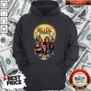 AC DC Heavy Metal Music Band Band Hail The AC DC To Halloween Hoodie