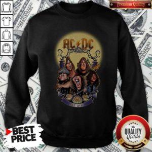 AC DC Heavy Metal Music Band Band Hail The AC DC To Halloween Sweatshirt