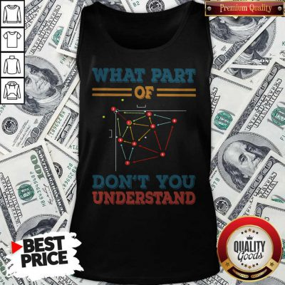 Baseball What Part Of Don't You Understand Tank Top