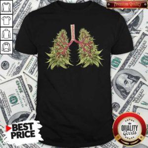 Cute Cannabis Lungs Shirt