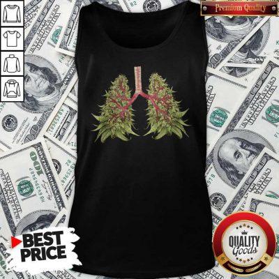 Cute Cannabis Lungs Tank Top