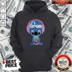 Cute Stitch Hug Kroger Hoodie