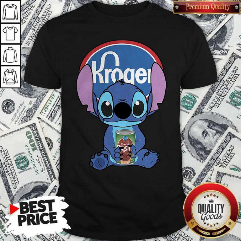 Cute Stitch Hug Kroger Shirt
