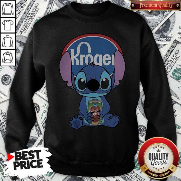 Cute Stitch Hug Kroger Sweatshirt