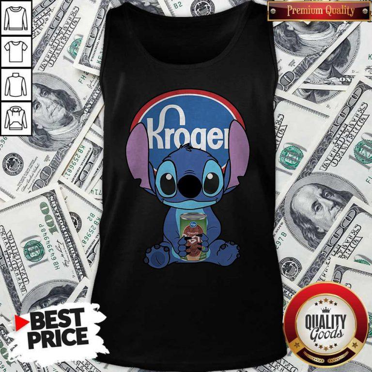 Cute Stitch Hug Kroger Tank Top