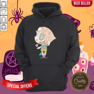 Elegant But Strong Muerto Sugar Skull Day Of The Dead Hoodie