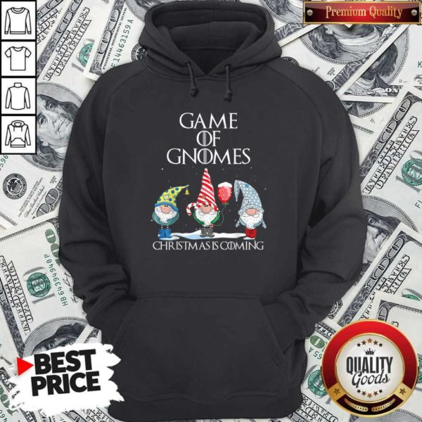 Game Of Gnomes Christmas Is Coming Hoodie