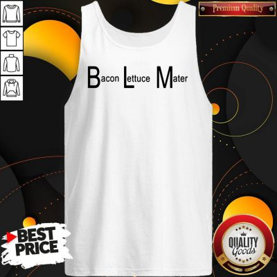 Good BLM Bacon Lettuce Mater Tank Top
