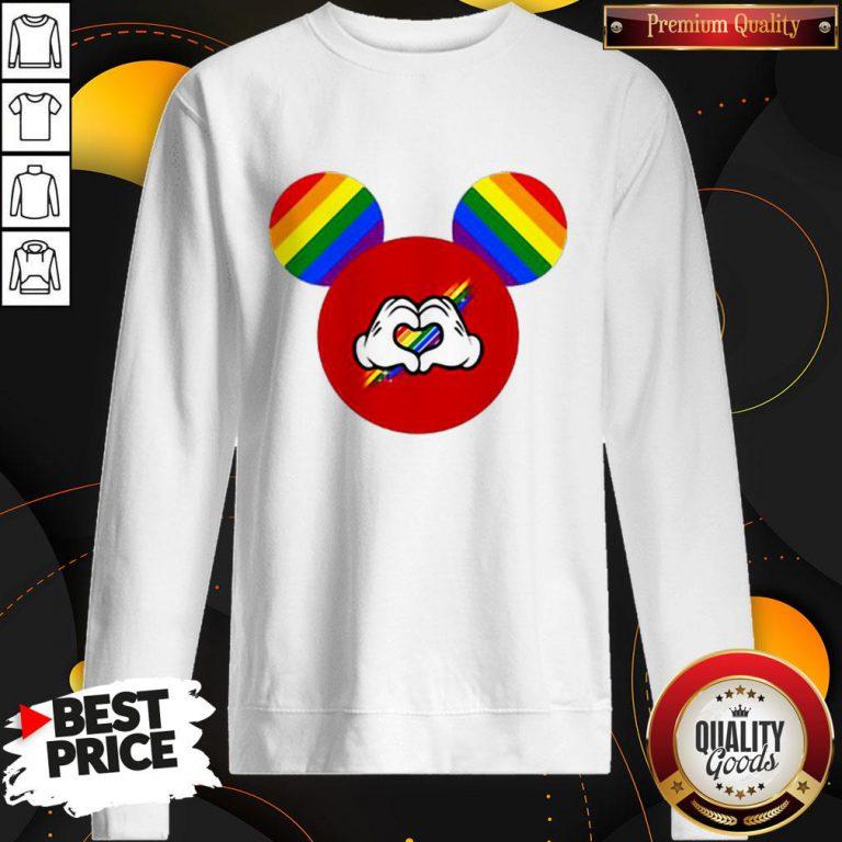 Good Mickey Mouse LGBT Sweatshirt