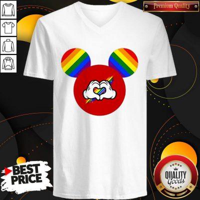 Good Mickey Mouse LGBT V-neck