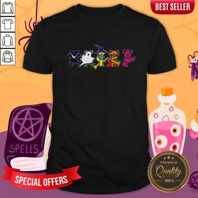 Halloween Grateful Dead Dancing Bears Tee ShirtHalloween Grateful Dead Dancing Bears Tee Shirt
