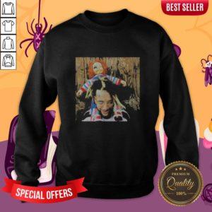 Halloween Scrim With Chucky Sweatshirt