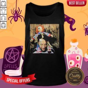 Halloween Scrim With Chucky Tank Top
