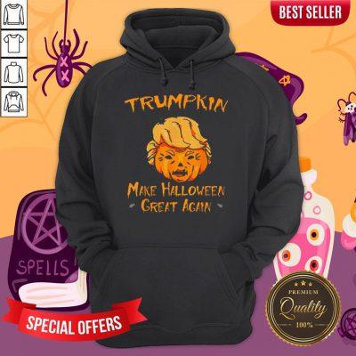 Halloween Trumpkin Make Halloween Great Again Hoodie