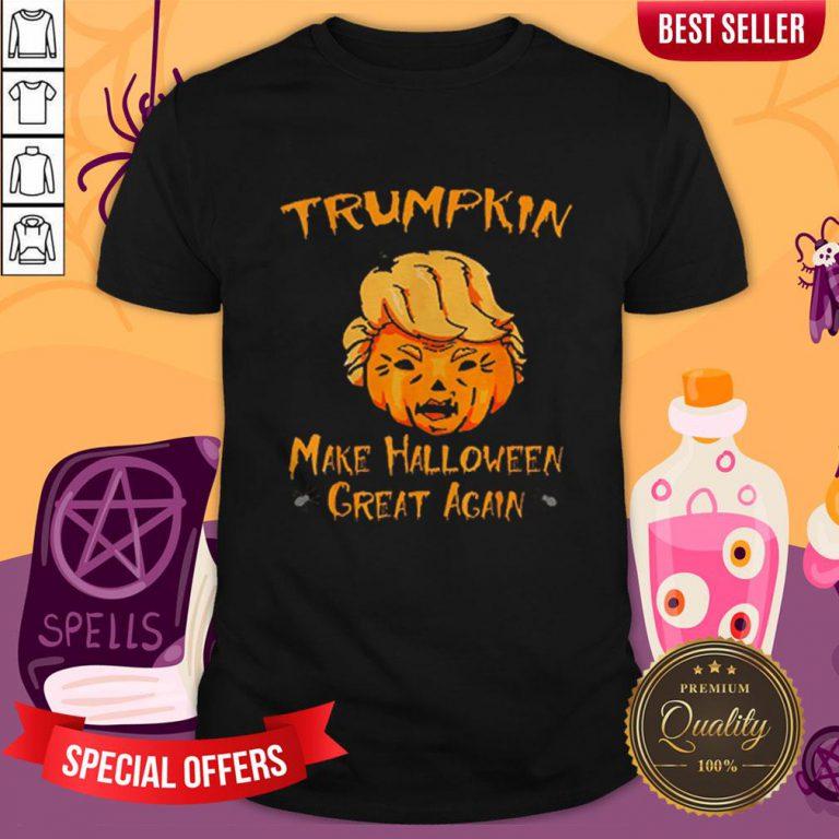 Halloween Trumpkin Make Halloween Great Again Shirt