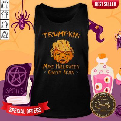Halloween Trumpkin Make Halloween Great AgHalloween Trumpkin Make Halloween Great Again Tank Topain Tank Top