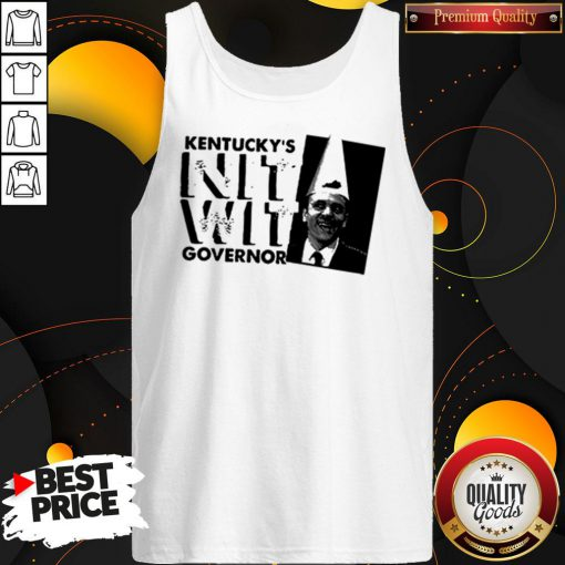 Happy Matt Bevin Kentucky's Nitwit Governor Tank Top