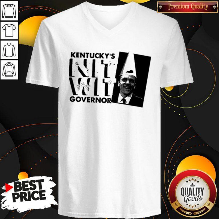 Happy Matt Bevin Kentucky's Nitwit Governor V-neck
