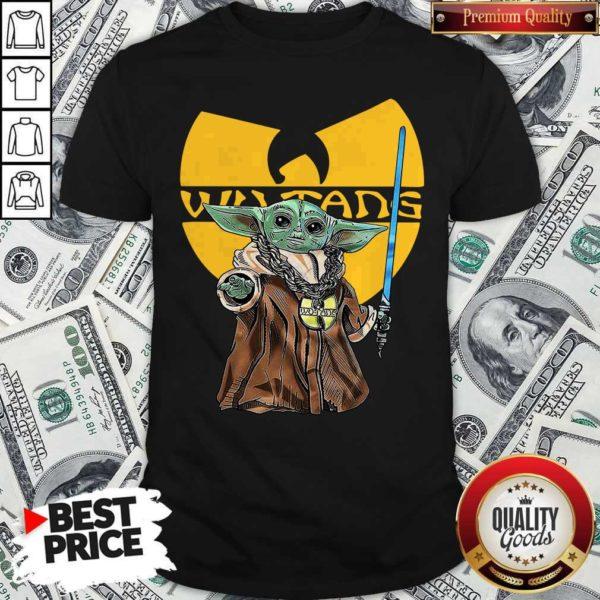 Happy Wu Tang Master Yoda Shirt