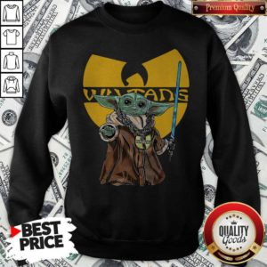 Happy Wu Tang Master Yoda Sweatshirt