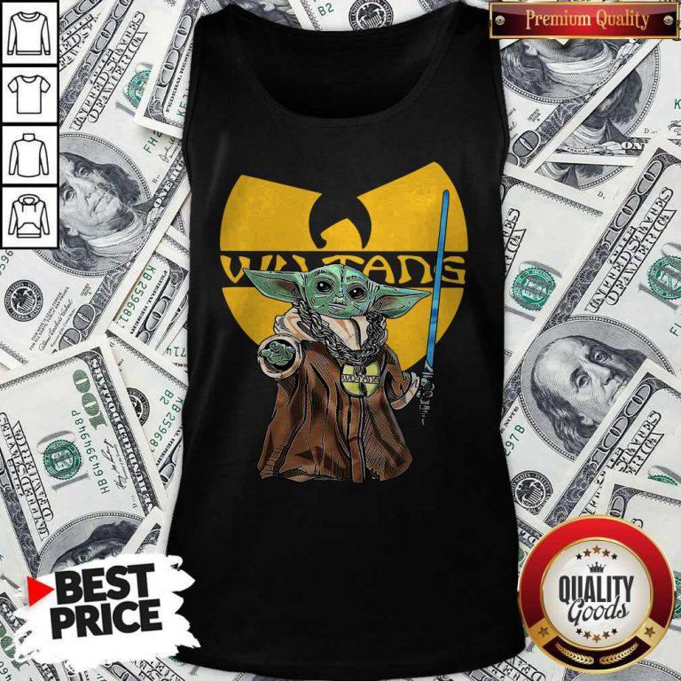 Happy Wu Tang Master Yoda Tank Top