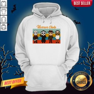 Horror Club Halloween Hoodie