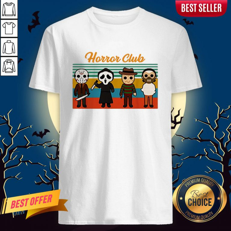 Horror Club Halloween Shirt
