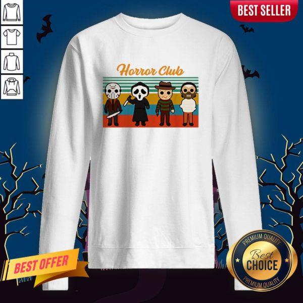 Horror Club Halloween Sweatshirt