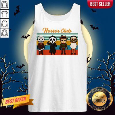 Horror Club Halloween Tank Top