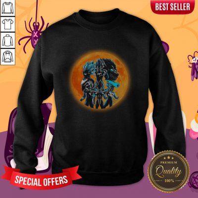 Hot Transformations Of Prince Moon Sweatshirt