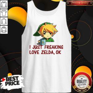 I Just Freaking Love Zelda Ok Tank Top