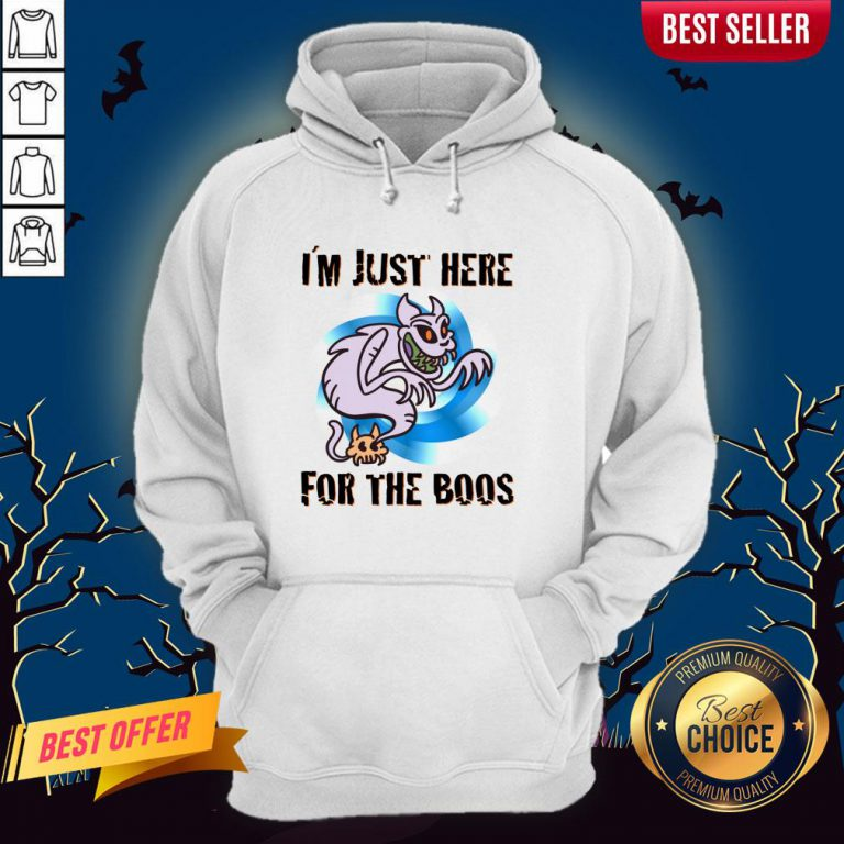 I´m Just Here For The Boos Halloween Day 2020 Hoodie