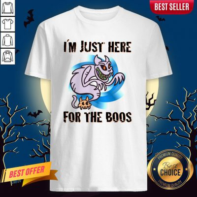 I´m Just Here For The Boos Halloween Day 2020 Shirt