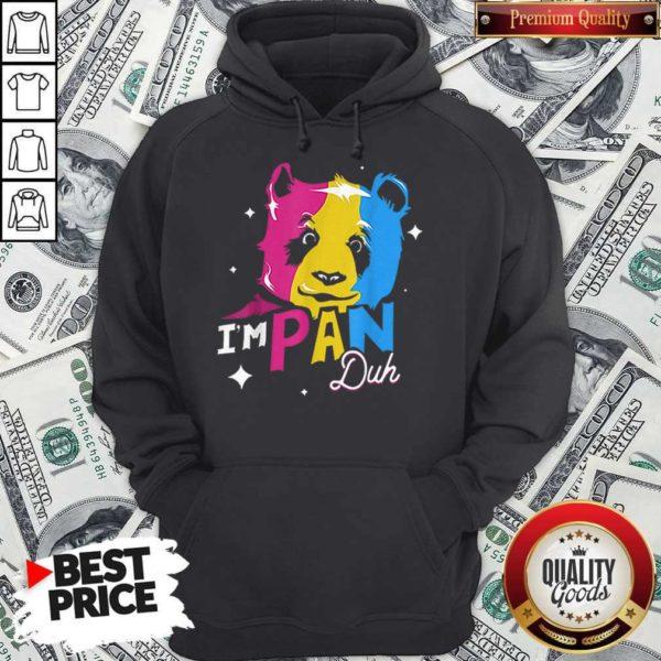 Im Pan Duh Panda Pansexual Pride Lgbt Rights Pun Hoodie