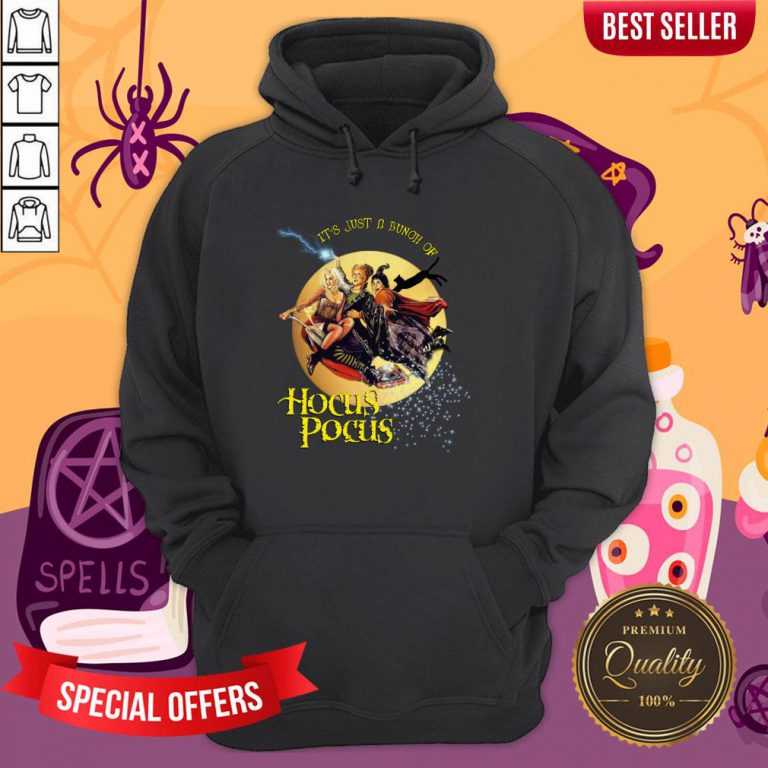 It'S Just A Bunch Of Hocus Pocus Halloween Day Hoodie