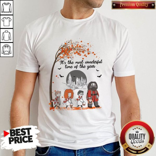 It's The Most Wonderful Time Of The Year Harry Potter Chibi Shirt