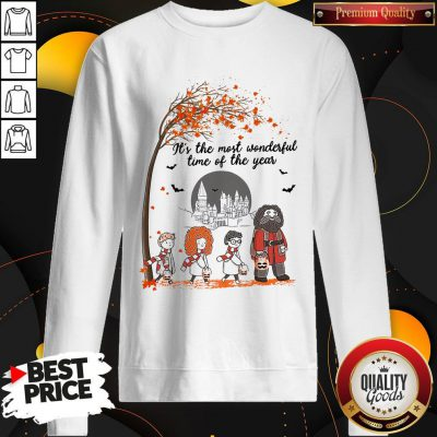 It's The Most Wonderful Time Of The Year Harry Potter Chibi Sweatshirt