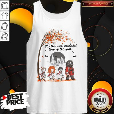 It's The Most Wonderful Time Of The Year Harry Potter Chibi Tank Top