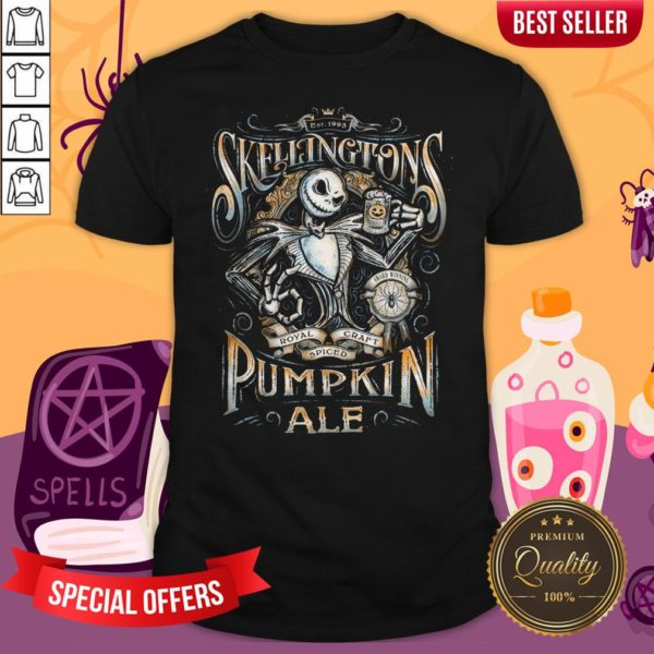 Jack'S Pumpkin Royal Craft Ale Halloween Day Shirt