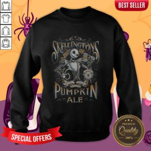 Jack'S Pumpkin Royal Craft Ale Halloween Day Sweatshirt