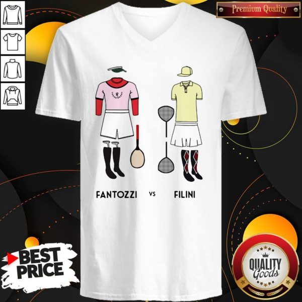 Love Fantozzi Vs Filini V-neck